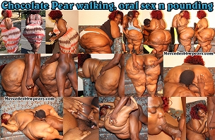 Chocolate Pear walking oral n pounding